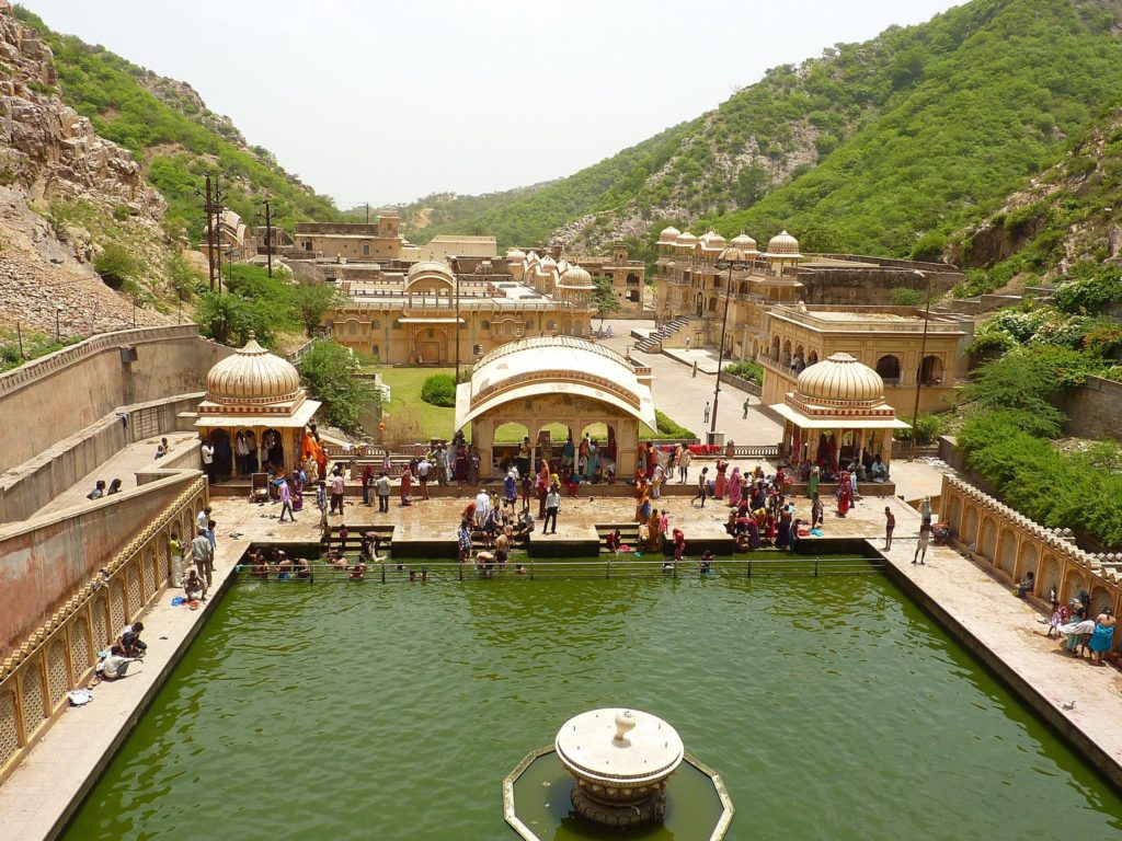 Galta Tample Jaipur tour
