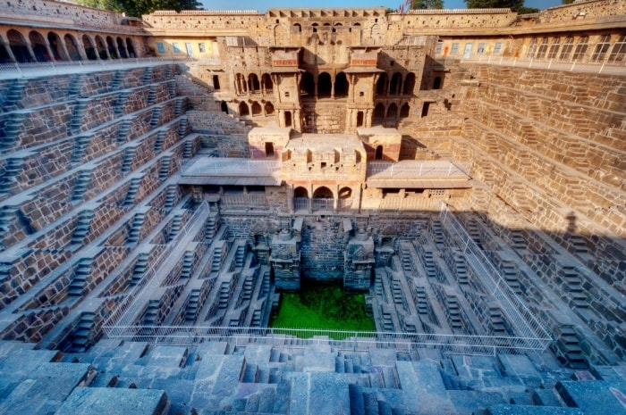 THE CHAND BAORI STEP WELL OF ABHANERI